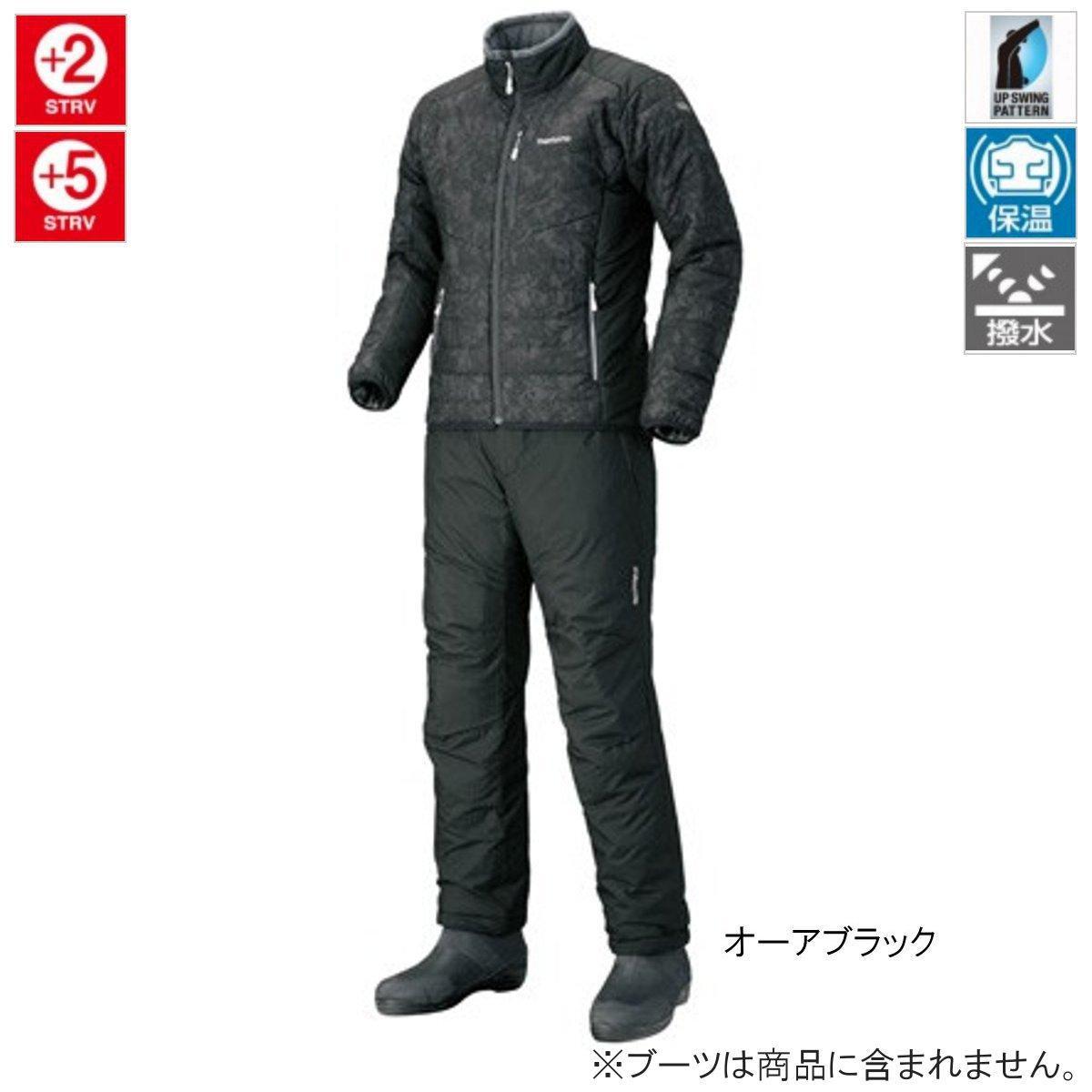 シマノ ベーシック インシュレーション スーツ MD-055Q L オーアブラック(東日本店)