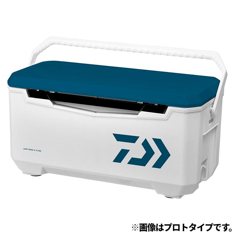 【5/10最大P45倍!】ダイワ ライトトランクα S 3200 ブルー クーラーボックス(東日本店)【同梱不可】