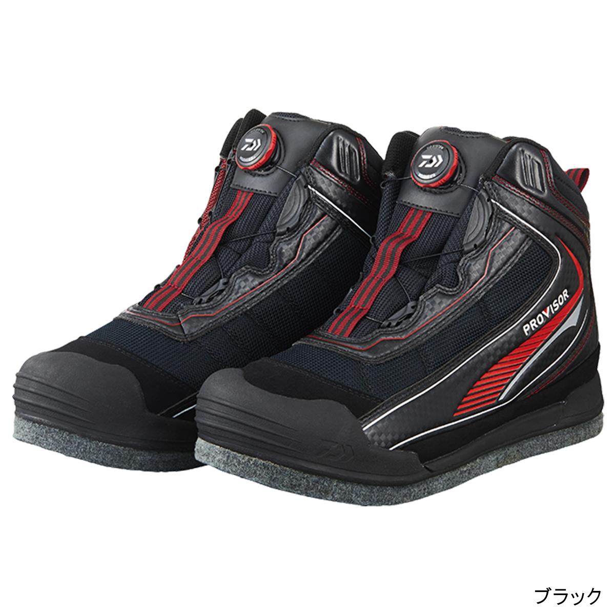 ダイワ プロバイザー フィッシングシューズ PV-2650 26.0cm ブラック(東日本店)