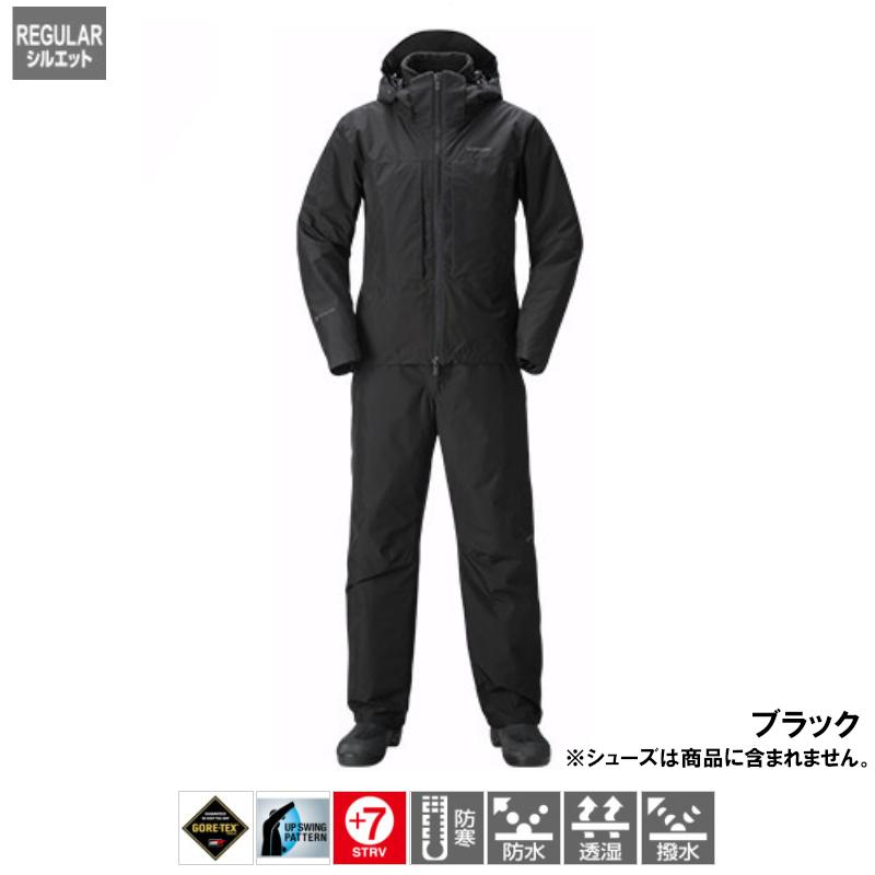 シマノ ゴアテックス ウォームスーツ XL ブラック [RB-017T](東日本店)