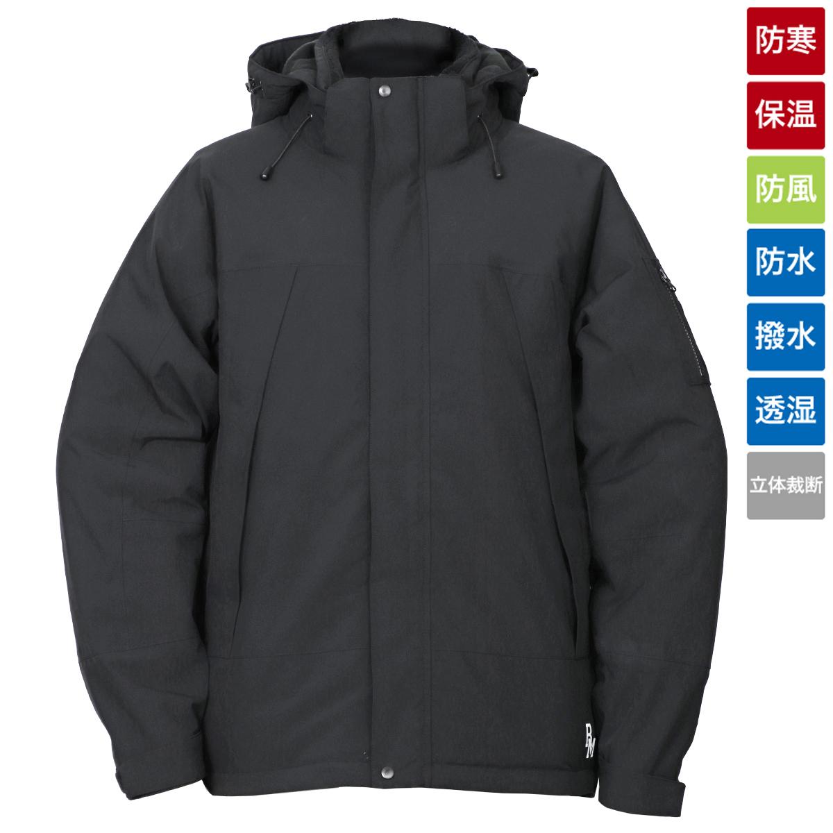 タカミヤ REAL METHOD 防水ウィンターダウンジャケット M ブラック(東日本店)
