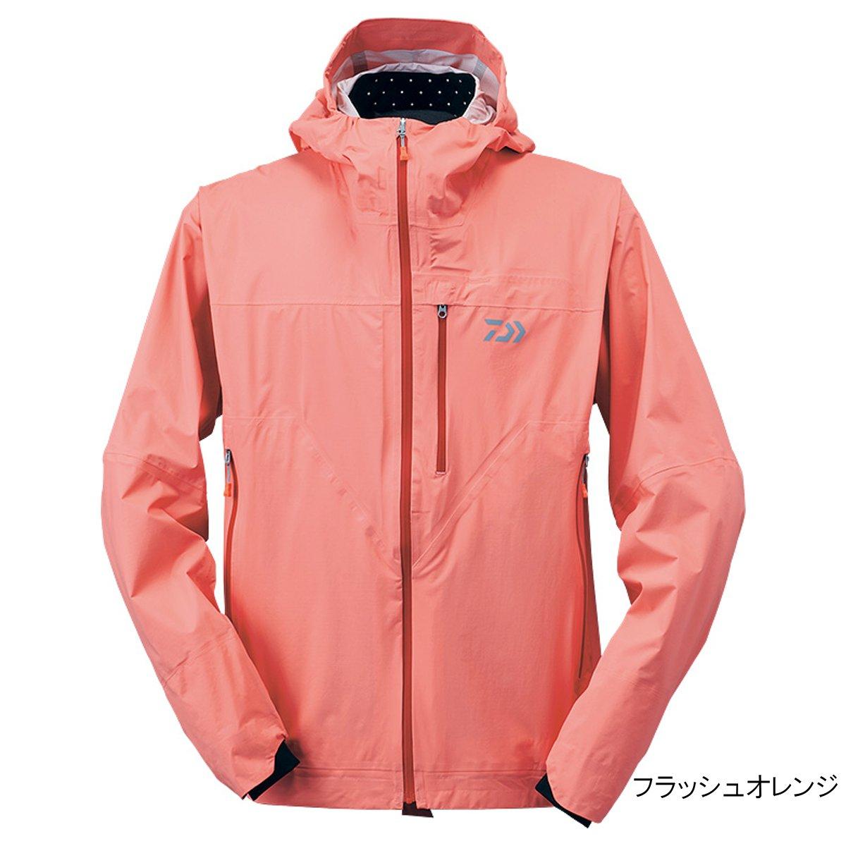 ダイワ レインマックス ポケッタブルレインジャケット DR-32009J L フラッシュオレンジ(東日本店)