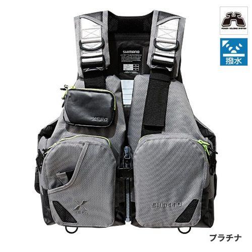 シマノ TACKLE FLOAT Jacket(basic) VF-272N フリー プラチナ(東日本店)