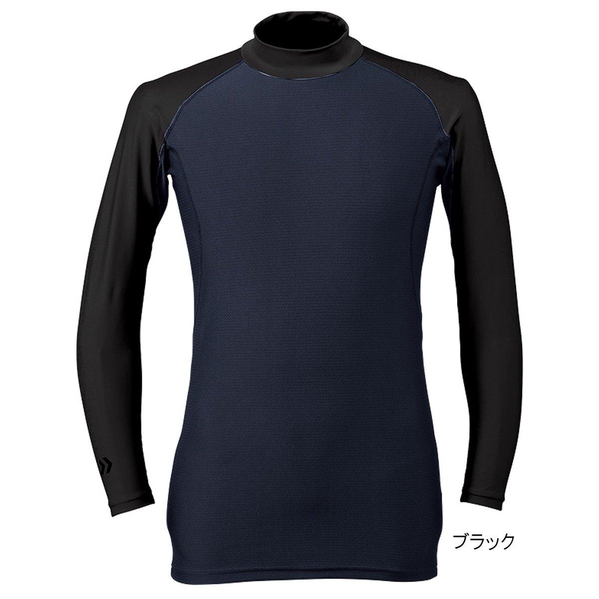 ダイワ UVカット クールアンダーシャツ(ミドルネック) DU-60009S WM ブラック(東日本店)