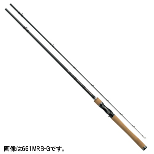 ダイワ ブラックレーベル+ ベイトキャスティングモデル 661MRB-G【大型商品】(東日本店)