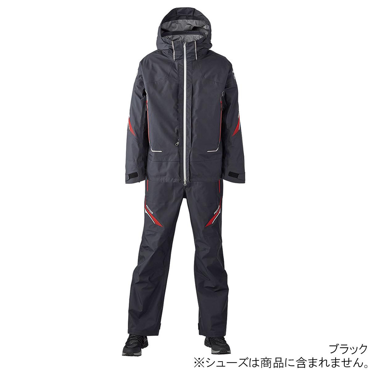 ダイワ プロバイザー ゴアテックス プロダクト コンビアップレインスーツ DR-15020 M ブラック(東日本店)