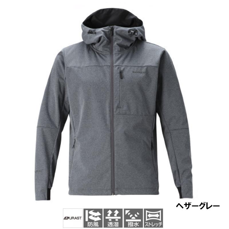 シマノ デュラスト ストレッチフーディー M ヘザーグレー [WJ-040T](東日本店)