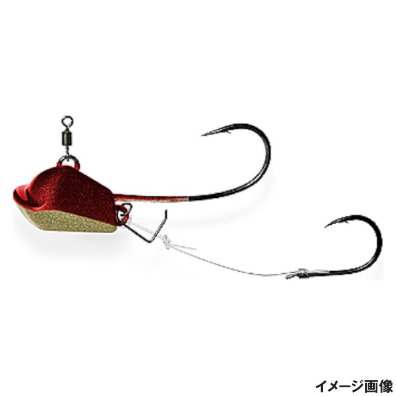 釣具のポイント 超三笠テンヤ タングステンver 8号 ゆうパケット 本店 Bレッドゴールド 専門店 VCM-0803