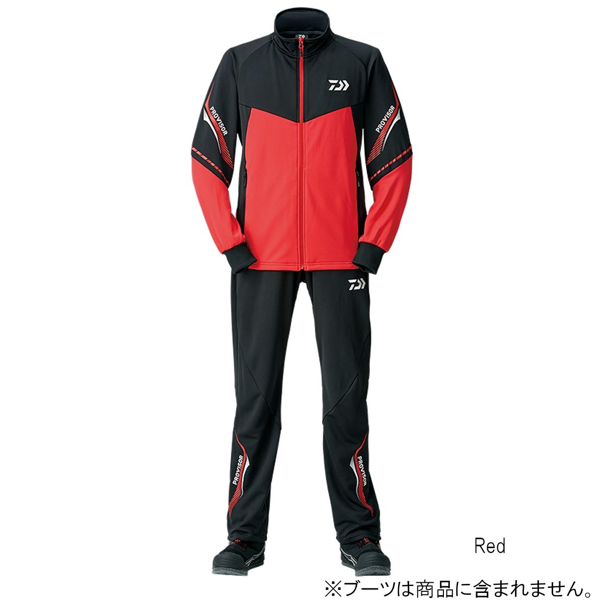 ダイワ プロバイザージャージスーツ DI-24008 L Red