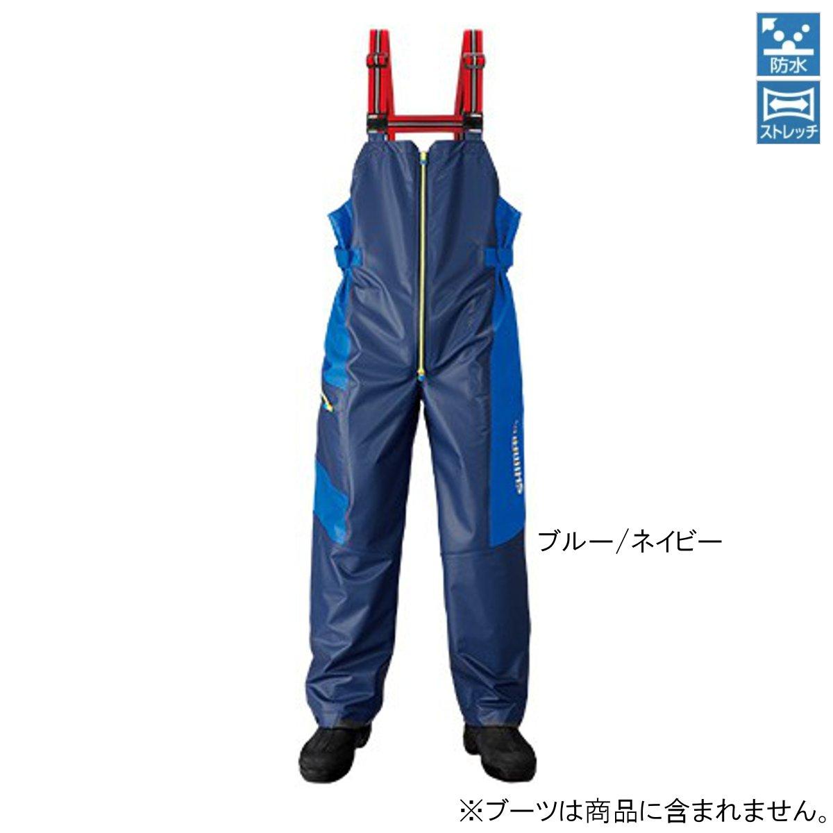 シマノ マリンサロペット RA-03PN M ブルー/ネイビー