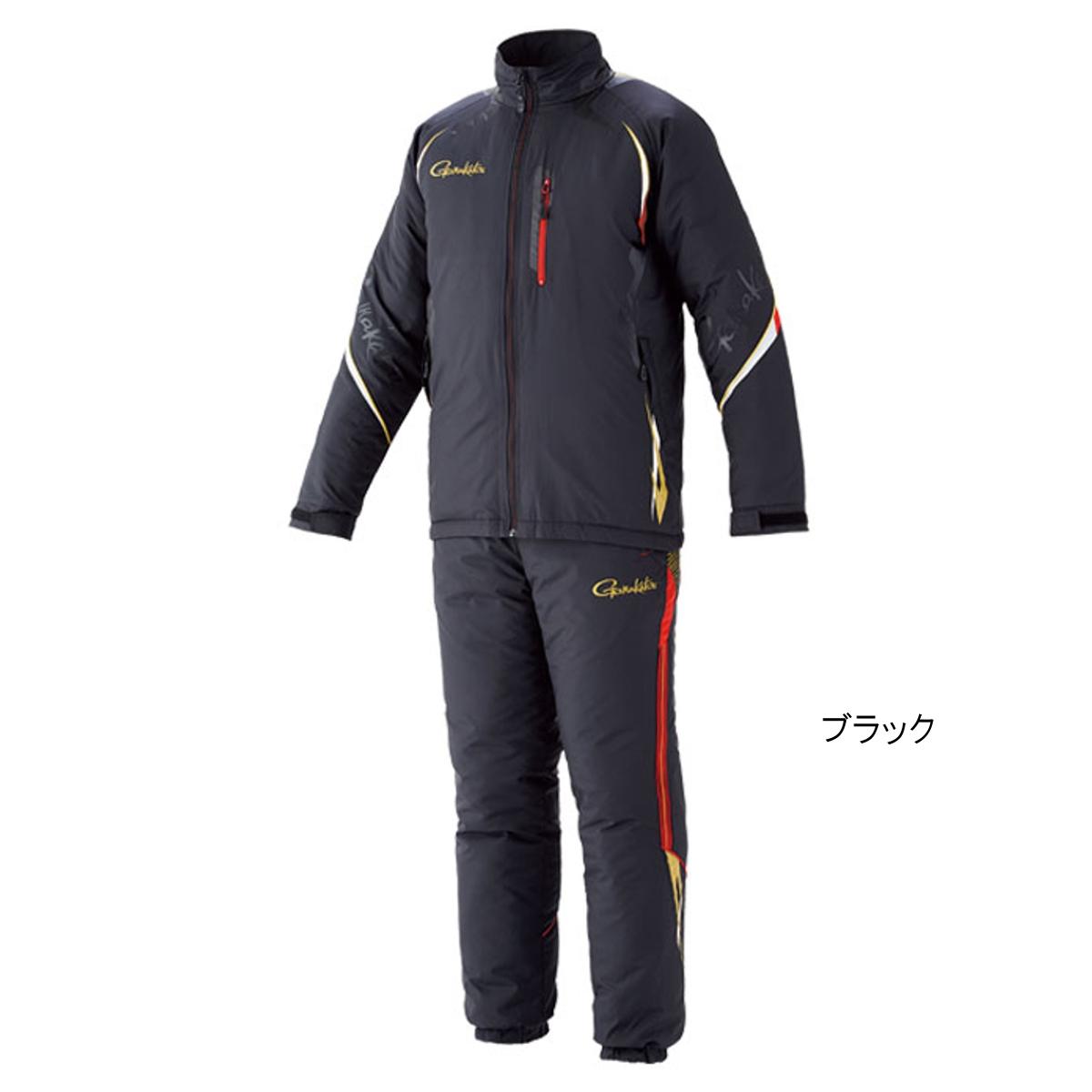 トレーニングウォームスーツ GM-3539 L ブラック