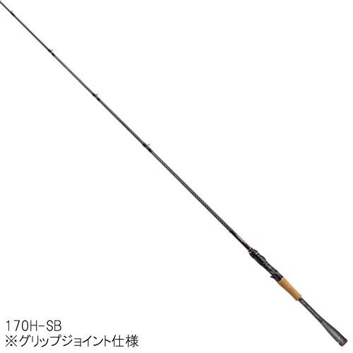 シマノ ポイズングロリアス 170H-SB SUPER VORTISM 70【大型商品】