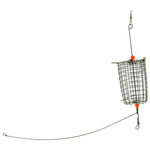 釣具のポイント 割り引き ステンカゴコップ型 天秤付A 着後レビューで 送料無料 M SC-111