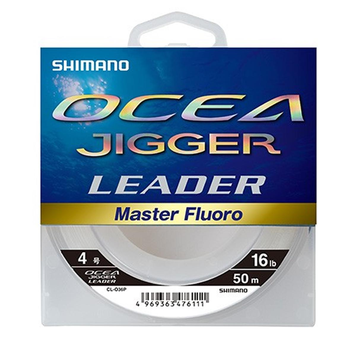 禧玛诺 (SHIMANO) oceajigger leadermasterfloro CL O36P 50 m 16 磅纯清除