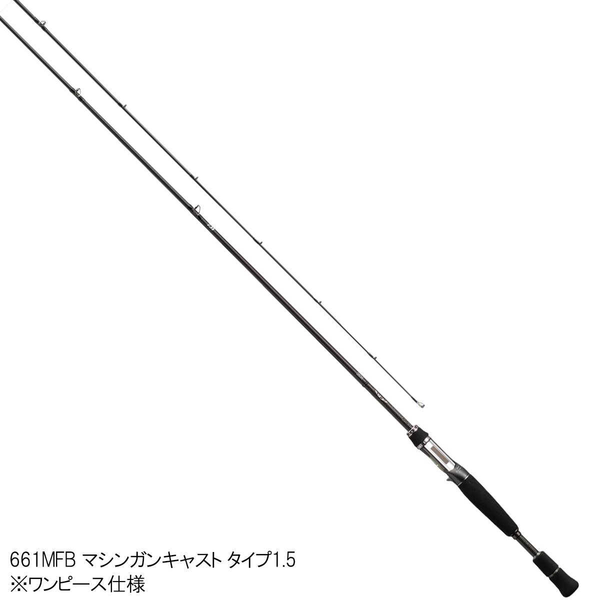 大和(Daiwa)住宿减弱角色型号661MFB机关枪演员表型1.5