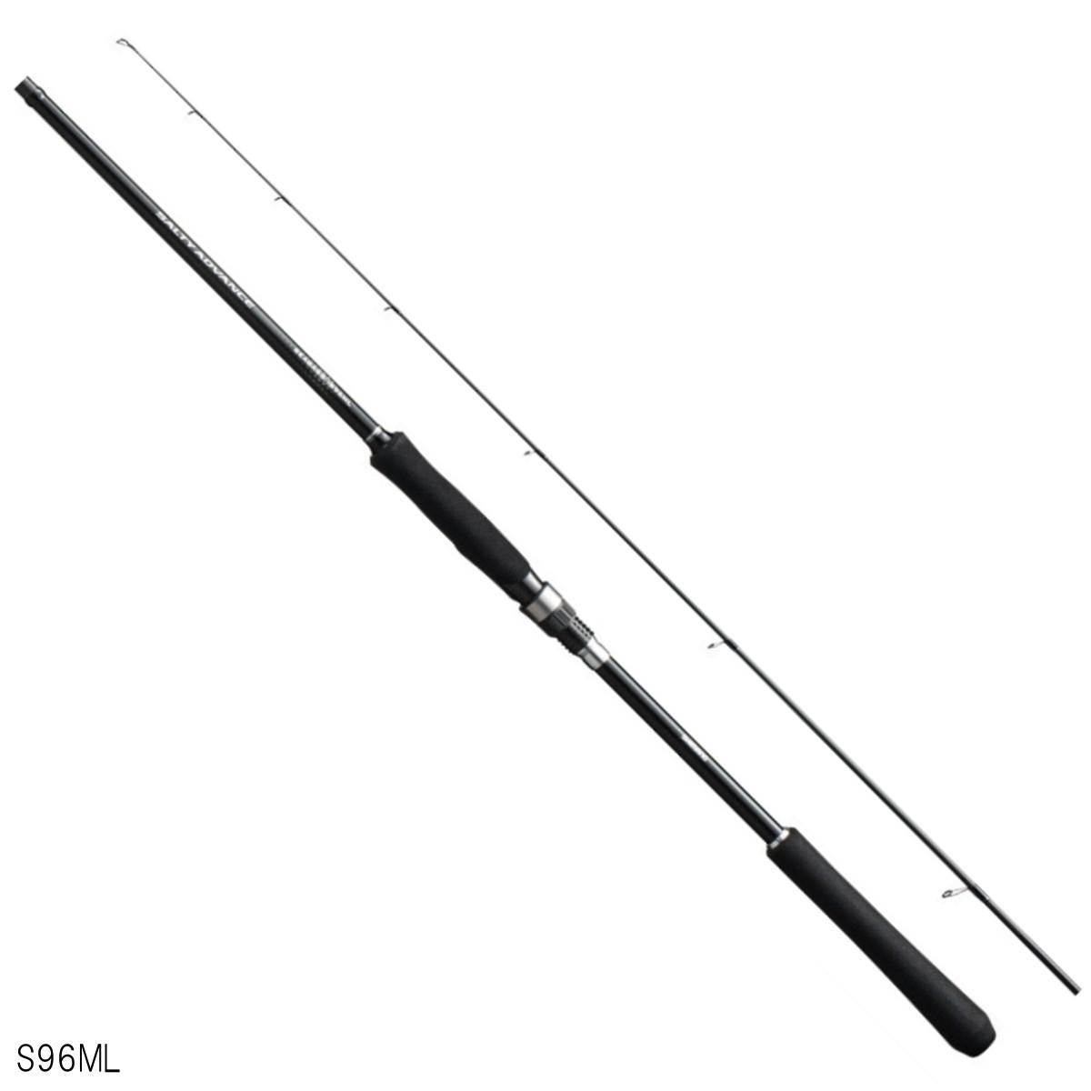 シマノ ソルティーアドバンス シーバス S96ML【大型商品】