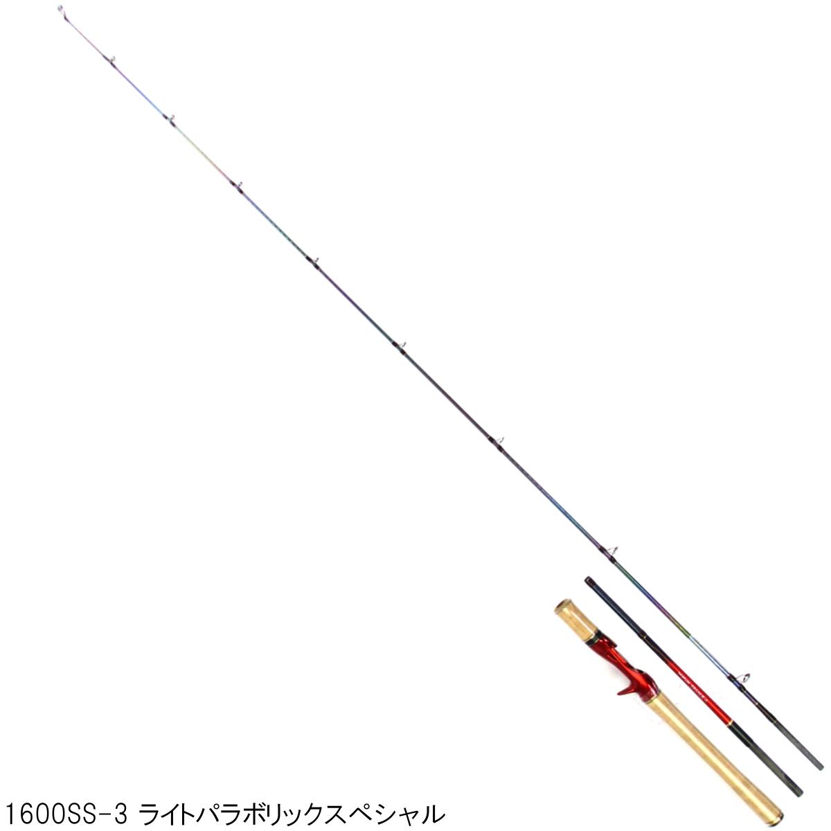 シマノ ワールドシャウラ (ベイト) 1600SS-3 ライトパラボリックスペシャル