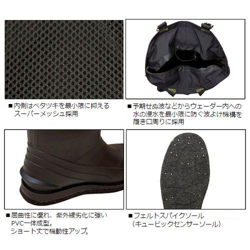 大和(Daiwa)taitofittosorutoueda SW-4501R-T(上一個圓)LL黑色