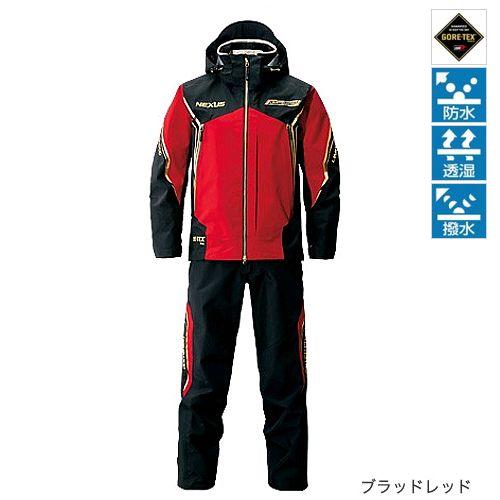 Shimano (SHIMANO) NEXUS Goretex Pro Rainsuits limited Pro RA-112 N 2XL bloodred