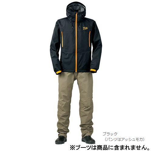 Daiwa (Daiwa) rain Max hyperlink suit DR-3504 XL (LL) black