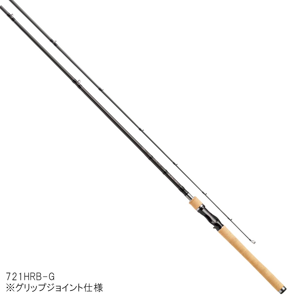 ダイワ ブラックレーベル+ ベイトキャスティングモデル 721HRB-G【大型商品】
