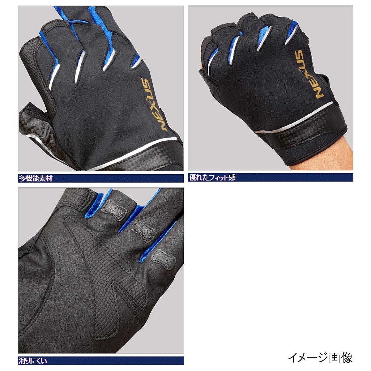 Shimano(SHIMANO)NEXUS防風合身手套3 GL-181P XL深藍