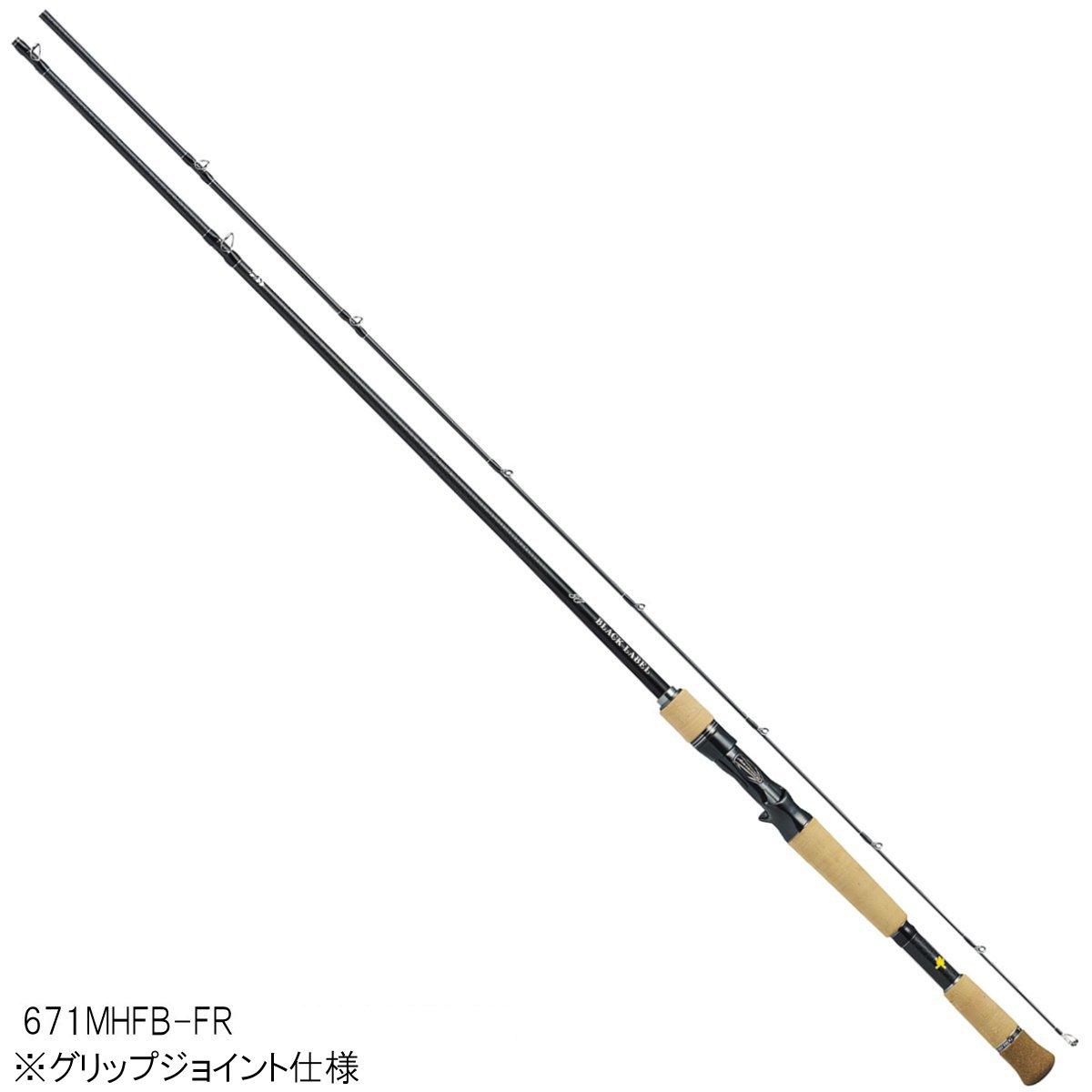 ダイワ ブラックレーベル SG(ベイトキャスティングモデル) 671MHFB-FR【大型商品】