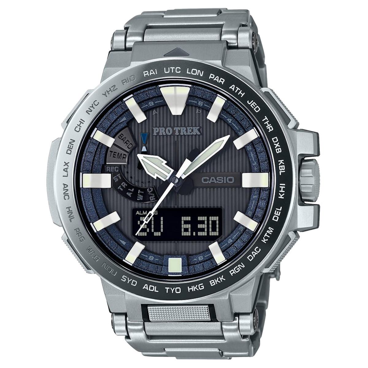 カシオ計算機(CASIO) プロトレック マナスル PRX-8000GT-7JF (高機能腕時計/登山/釣り/アウトドア/キャンプ)※メーカーお取り寄せ商品