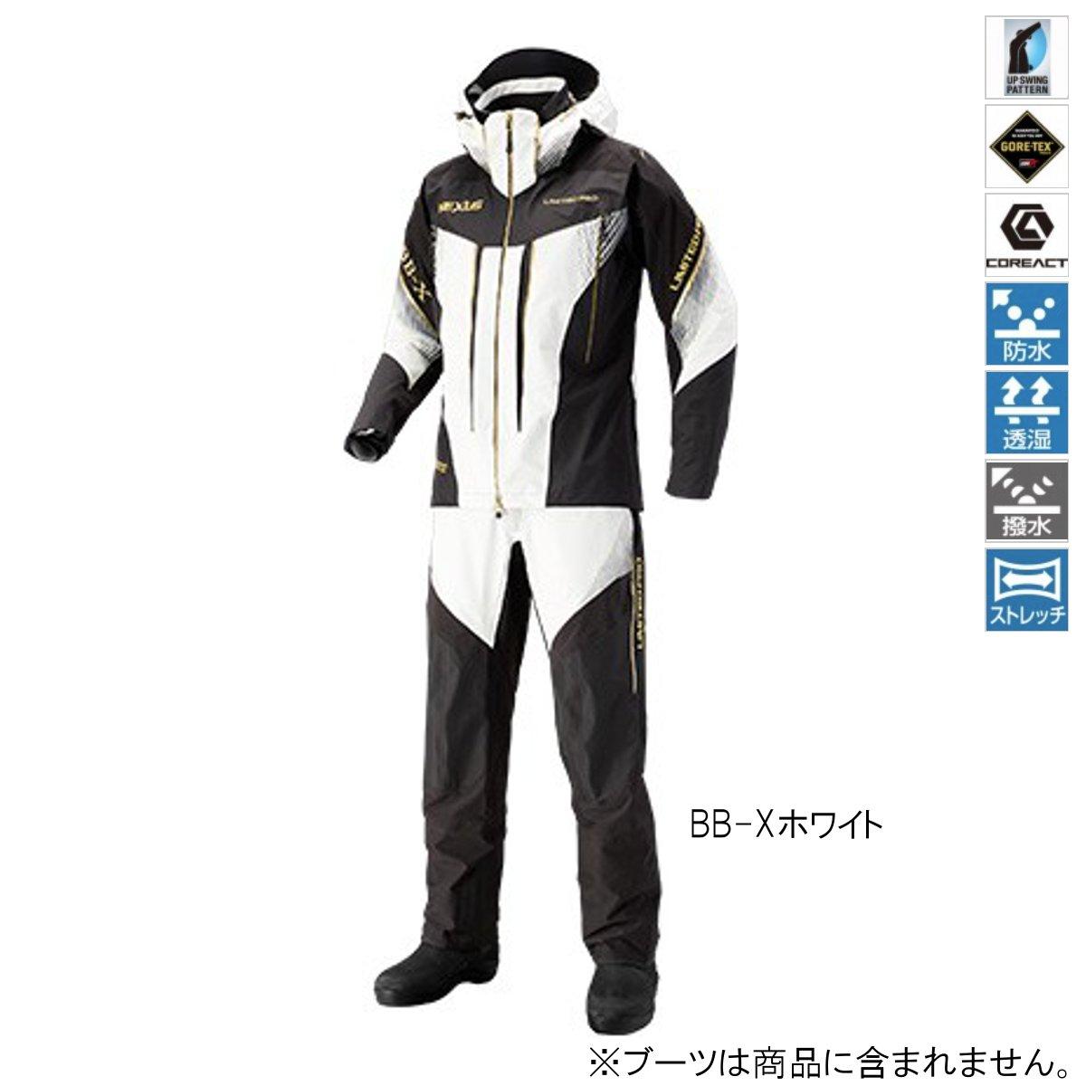 シマノ NEXUS・GORE-TEX レインスーツ LIMITED PRO RA-112S L BB-Xホワイト
