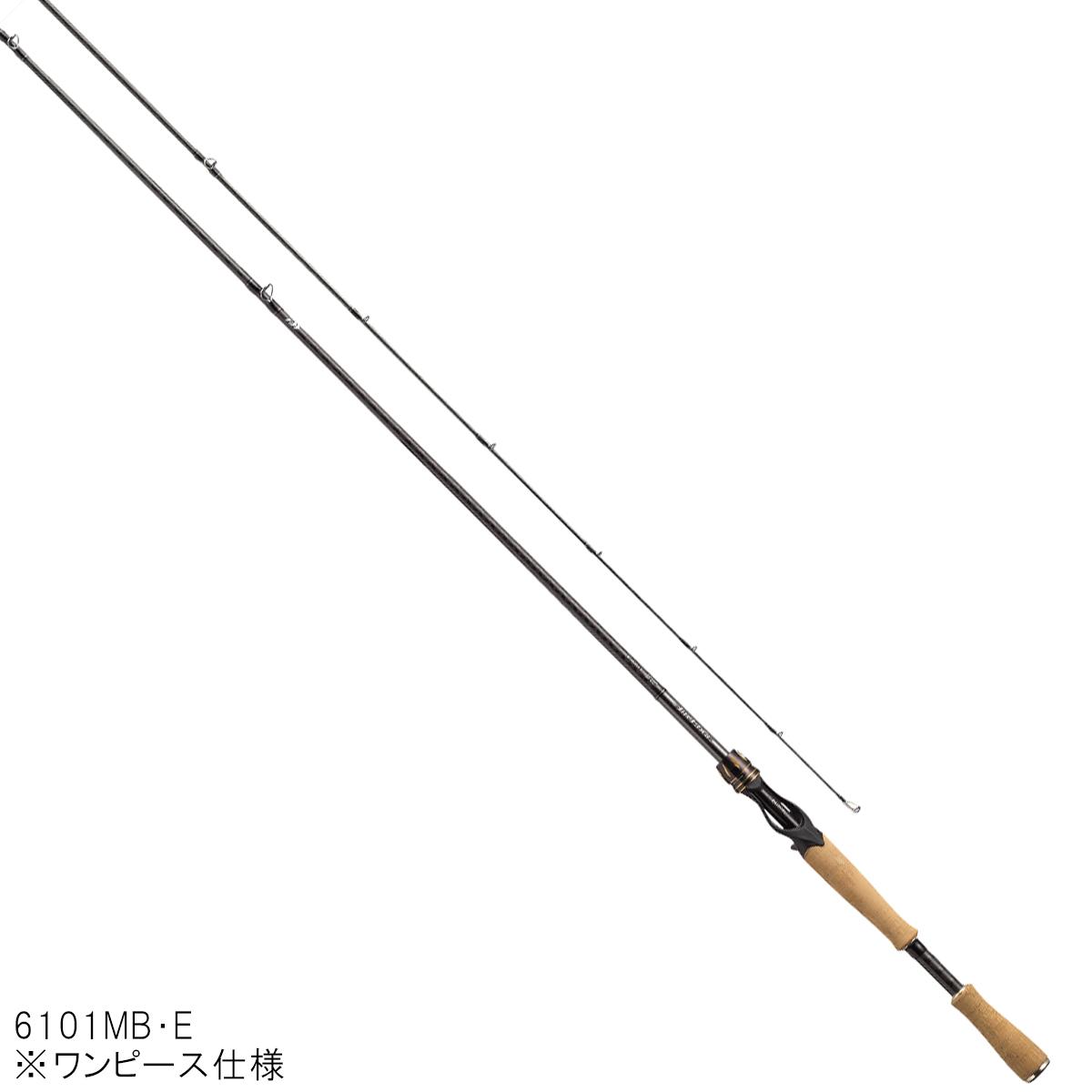 ダイワ エアエッジ ベイトキャスティングモデル 6101MB・E【大型商品】