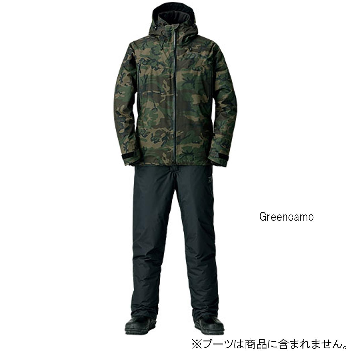ダイワ レインマックス ウィンタースーツ DW-3108 XL Greencamo
