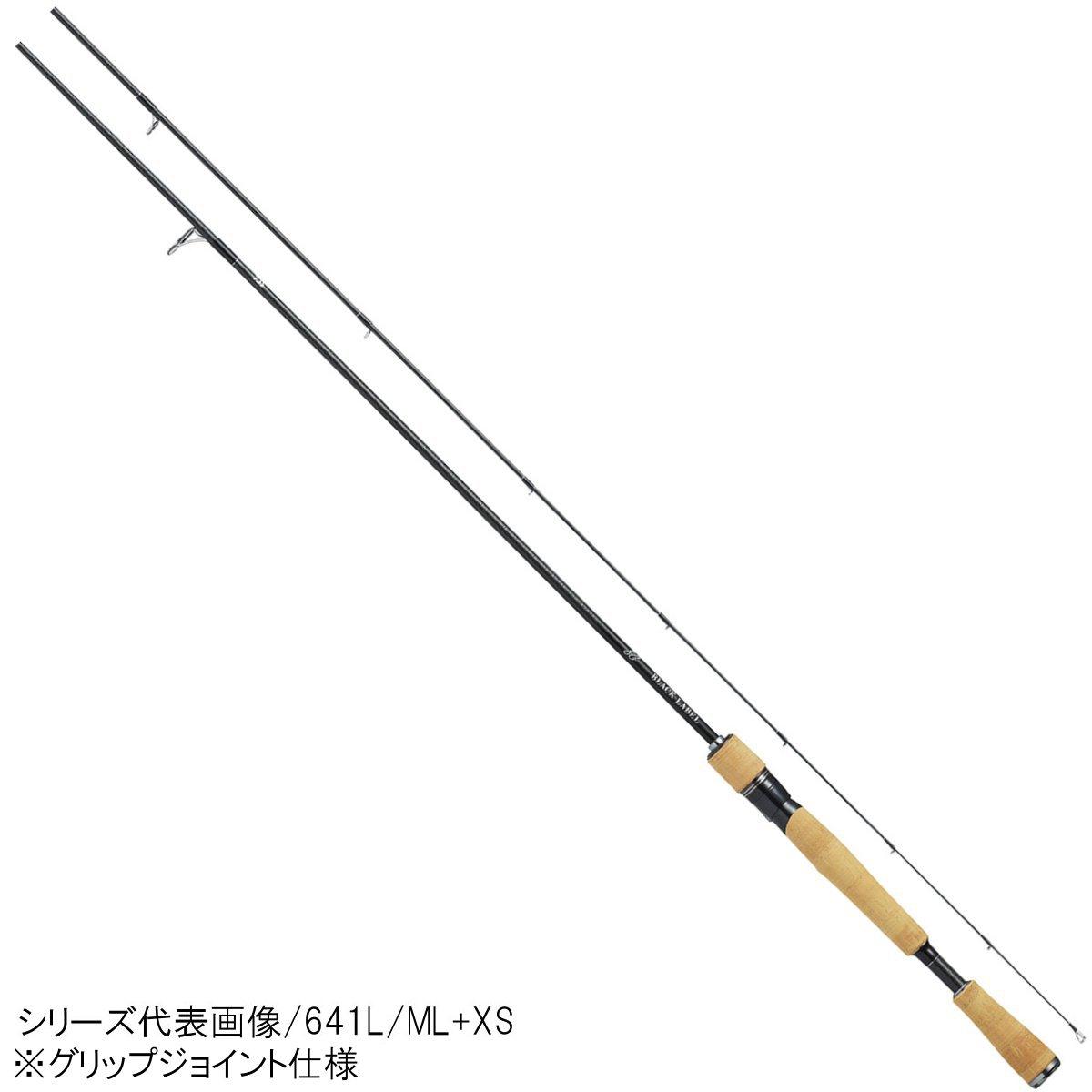 ダイワ ブラックレーベル SG(スピニングモデル) 681ML+XS【大型商品】