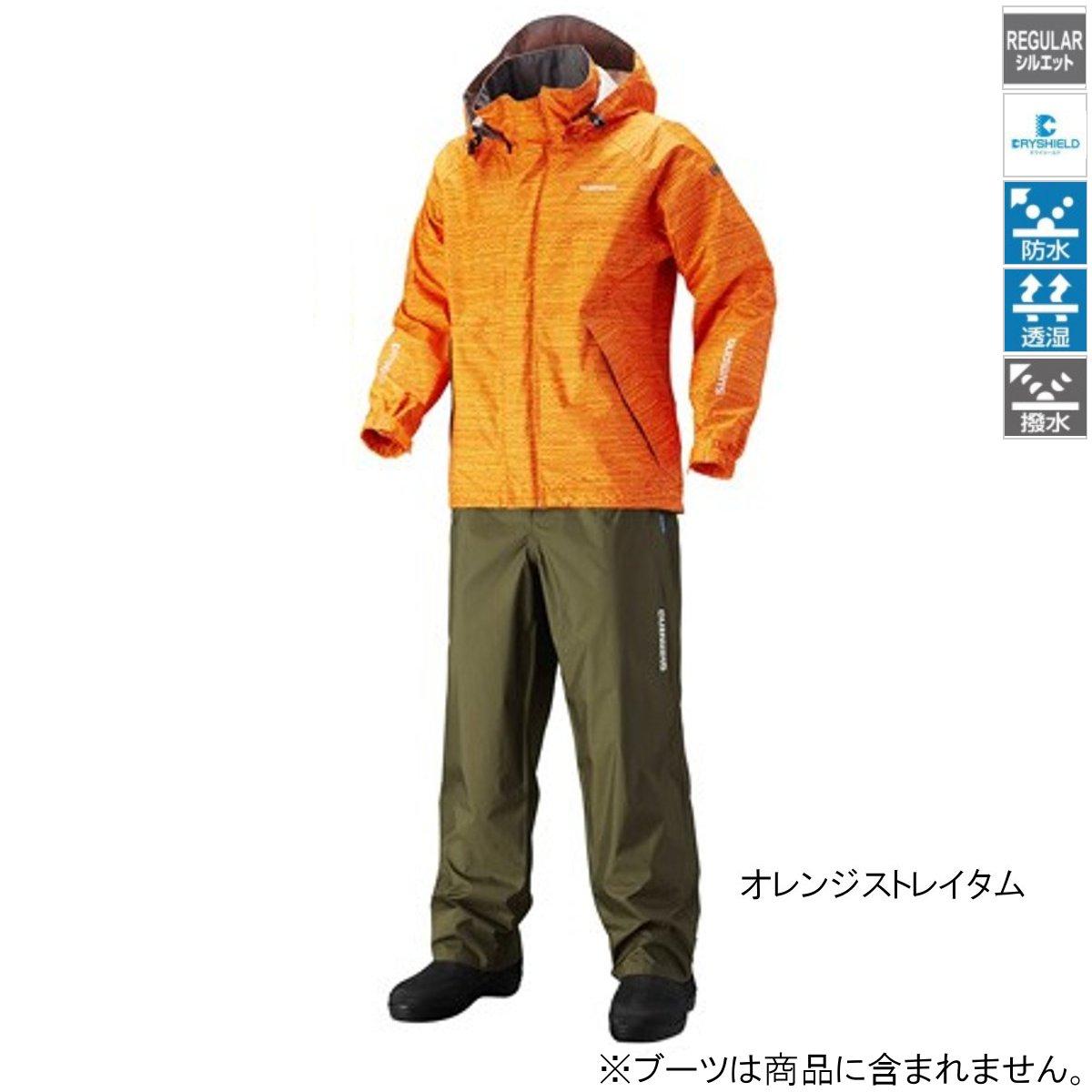シマノ DSベーシックスーツ RA-027Q 2XL オレンジストレイタム