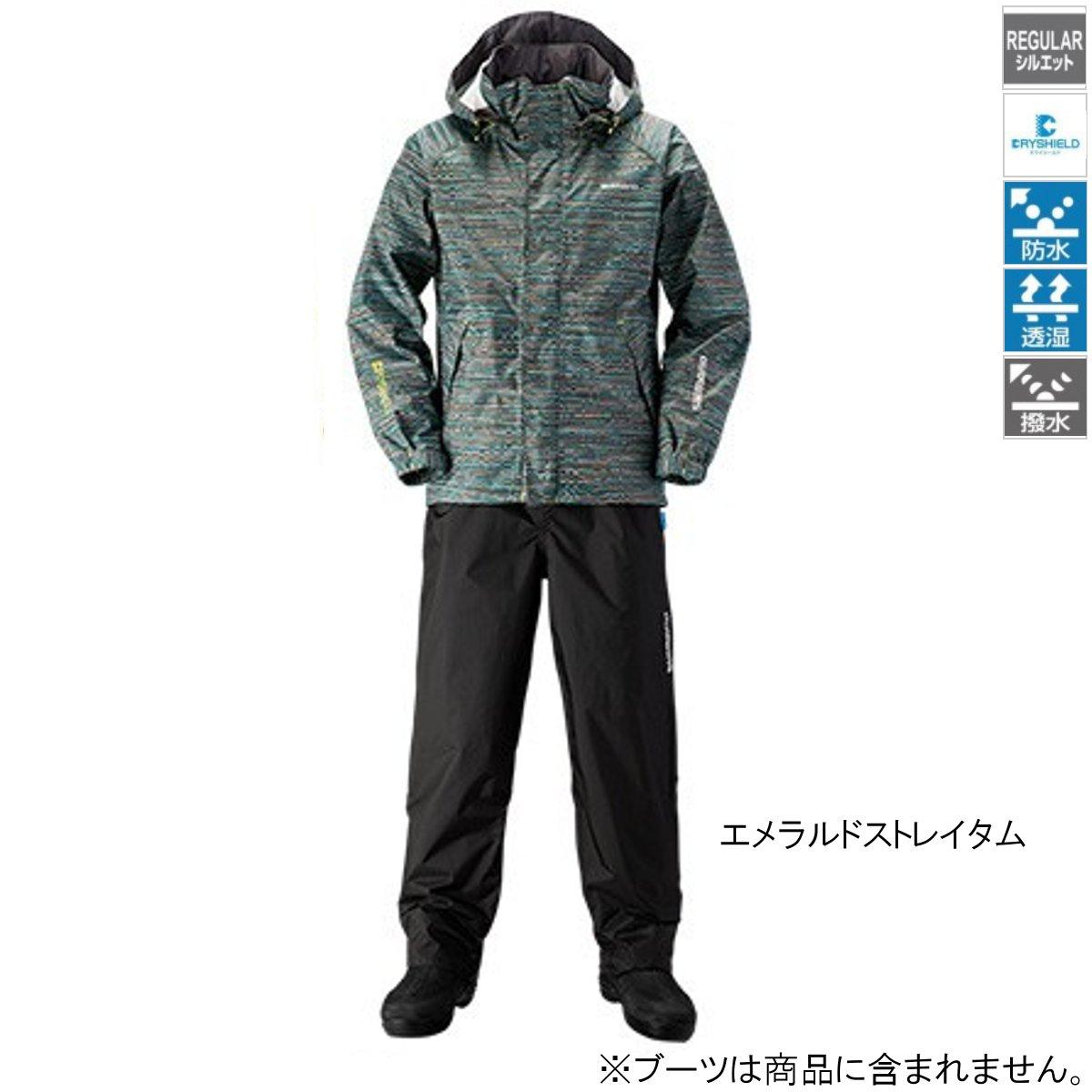 シマノ DSベーシックスーツ RA-027Q 2XL エメラルドストレイタム