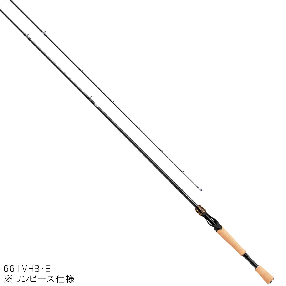ダイワ エアエッジ ベイトキャスティングモデル 661MHB・E【大型商品】