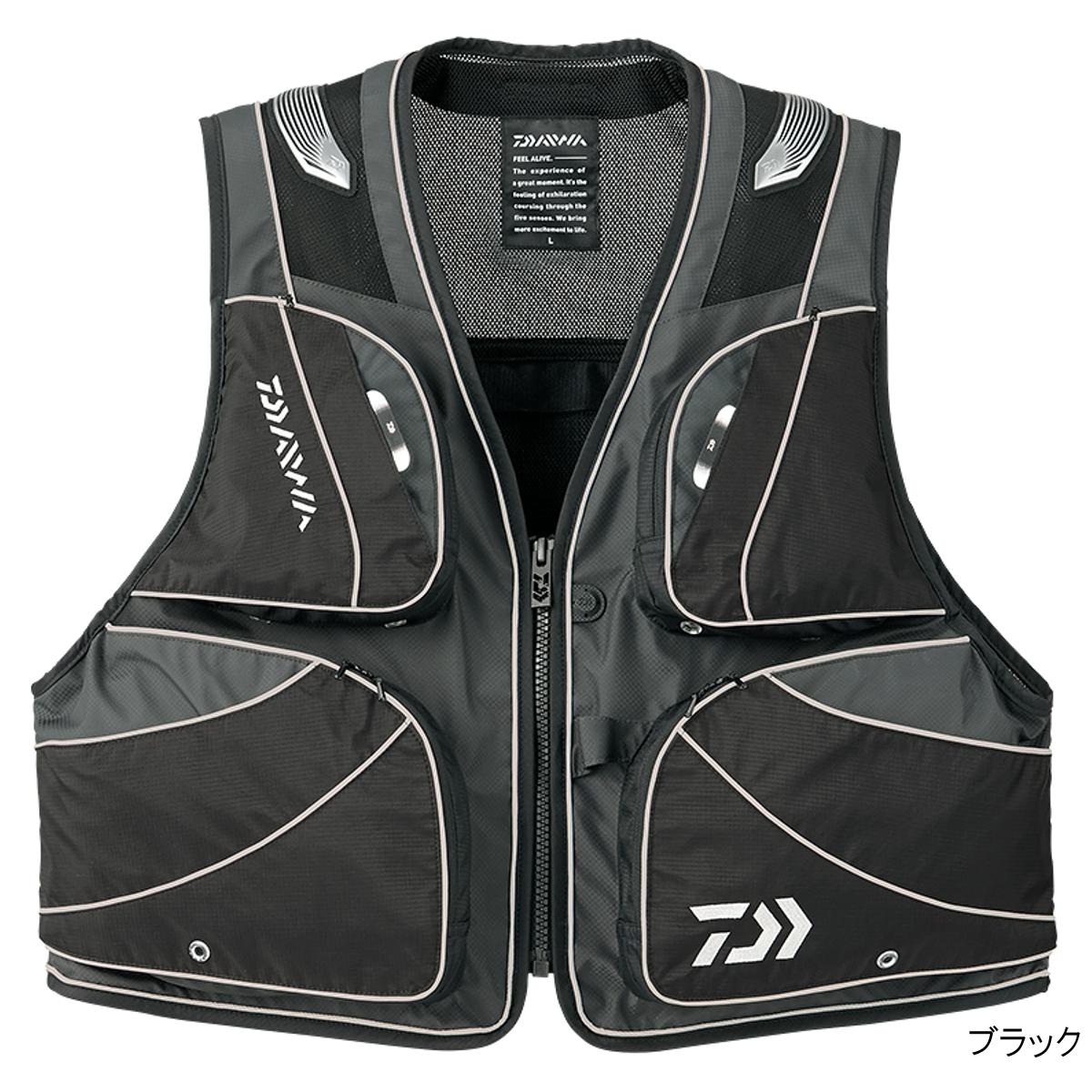 ダイワ DV-3008 バリアテック バリアテック ショートベスト DV-3008 XL ダイワ ブラック, FoRady:50e1585f --- officewill.xsrv.jp
