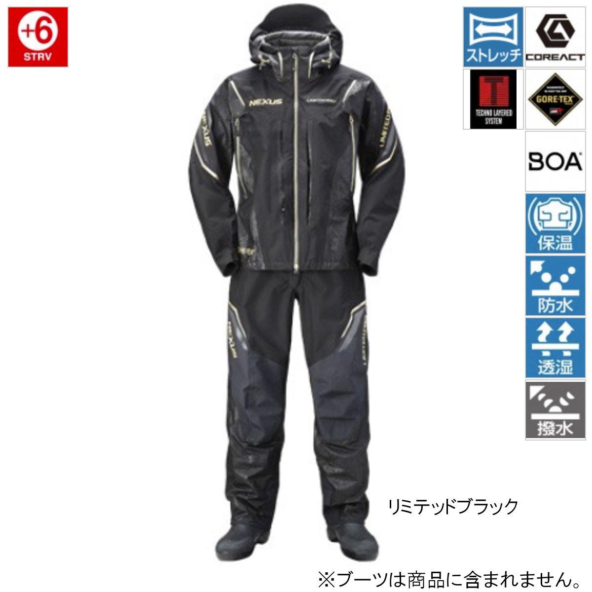 シマノ NEXUS・GORE-TEXプロテクトスーツ LIMITED PRO RT-112R 2XL リミテッドブラック