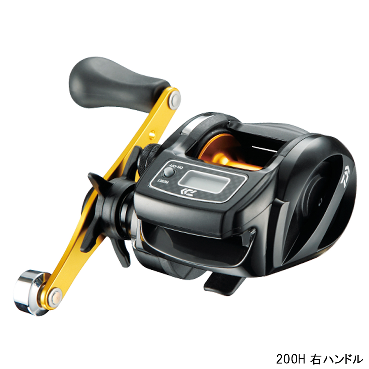 b5fa03809be Fishing Tackle Point: Daiwa light game ICV 200H right-hand drive ...