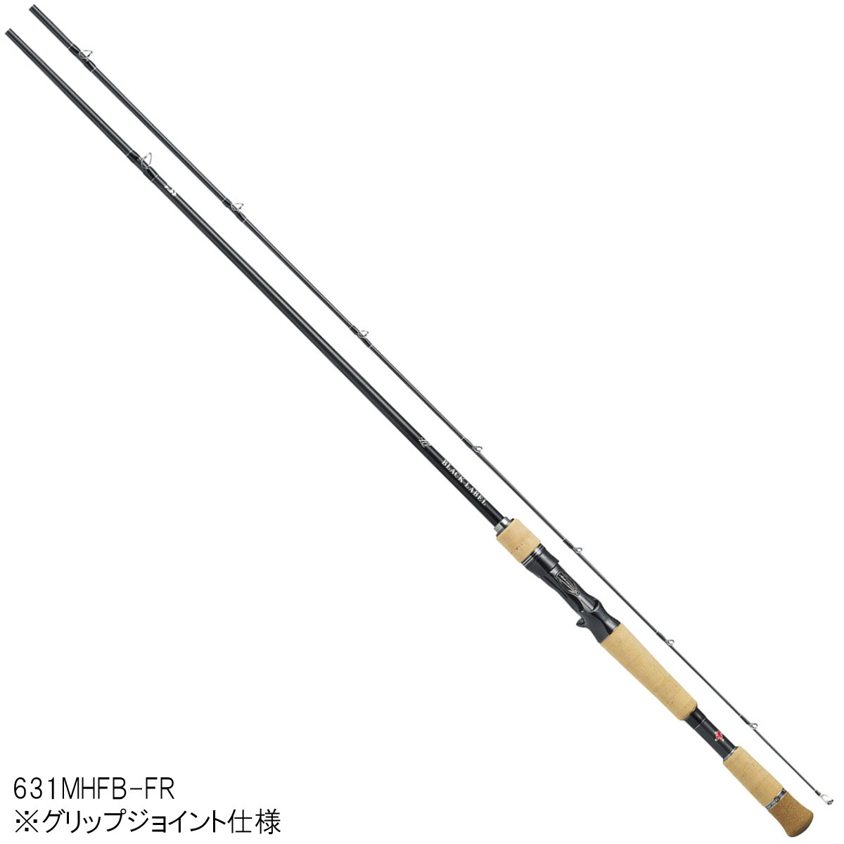 ダイワ ブラックレーベル LG(ベイトキャスティングモデル) 631MHFB-FR【大型商品】