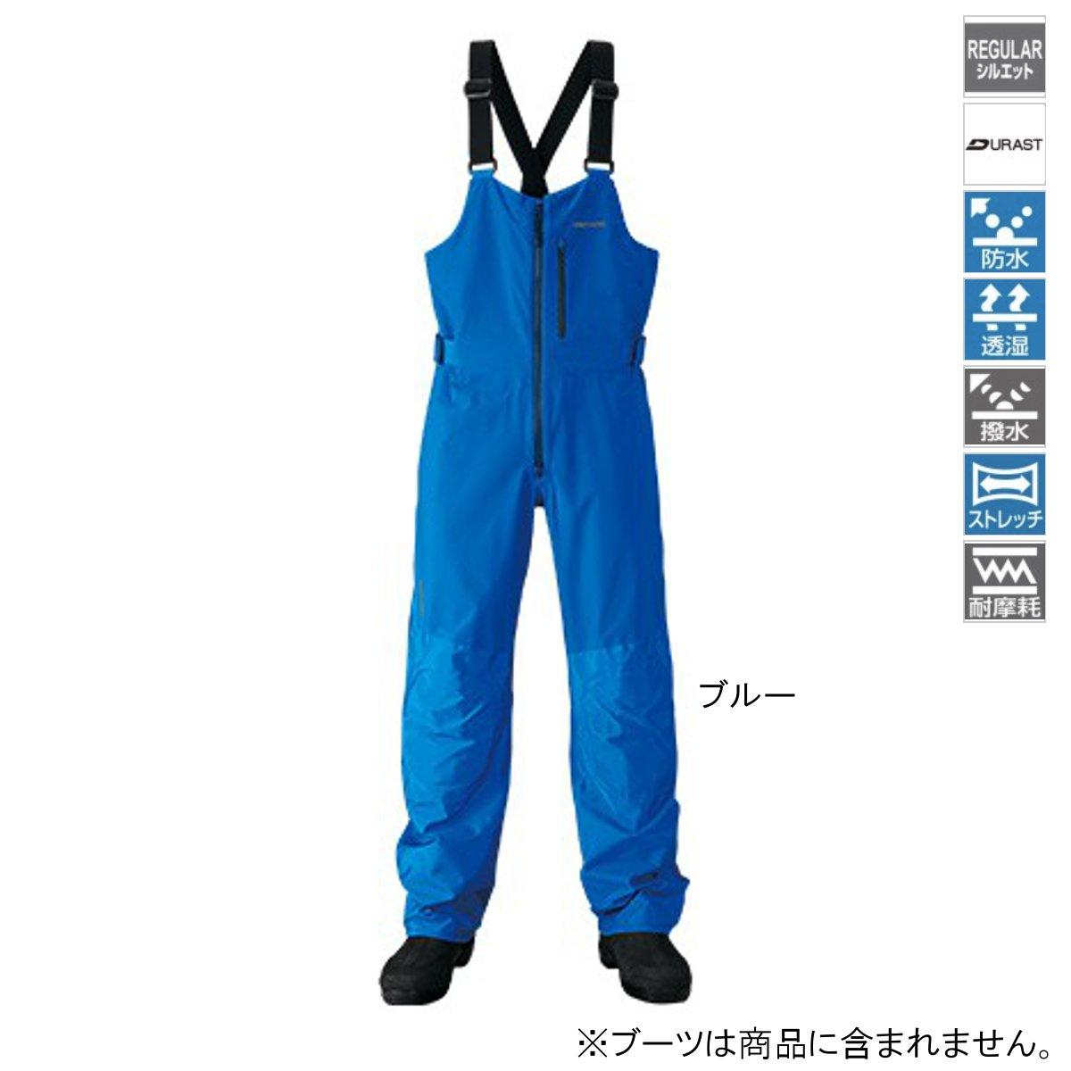 シマノ XEFO DURASTレインビブ RA-26PS XL ブルー
