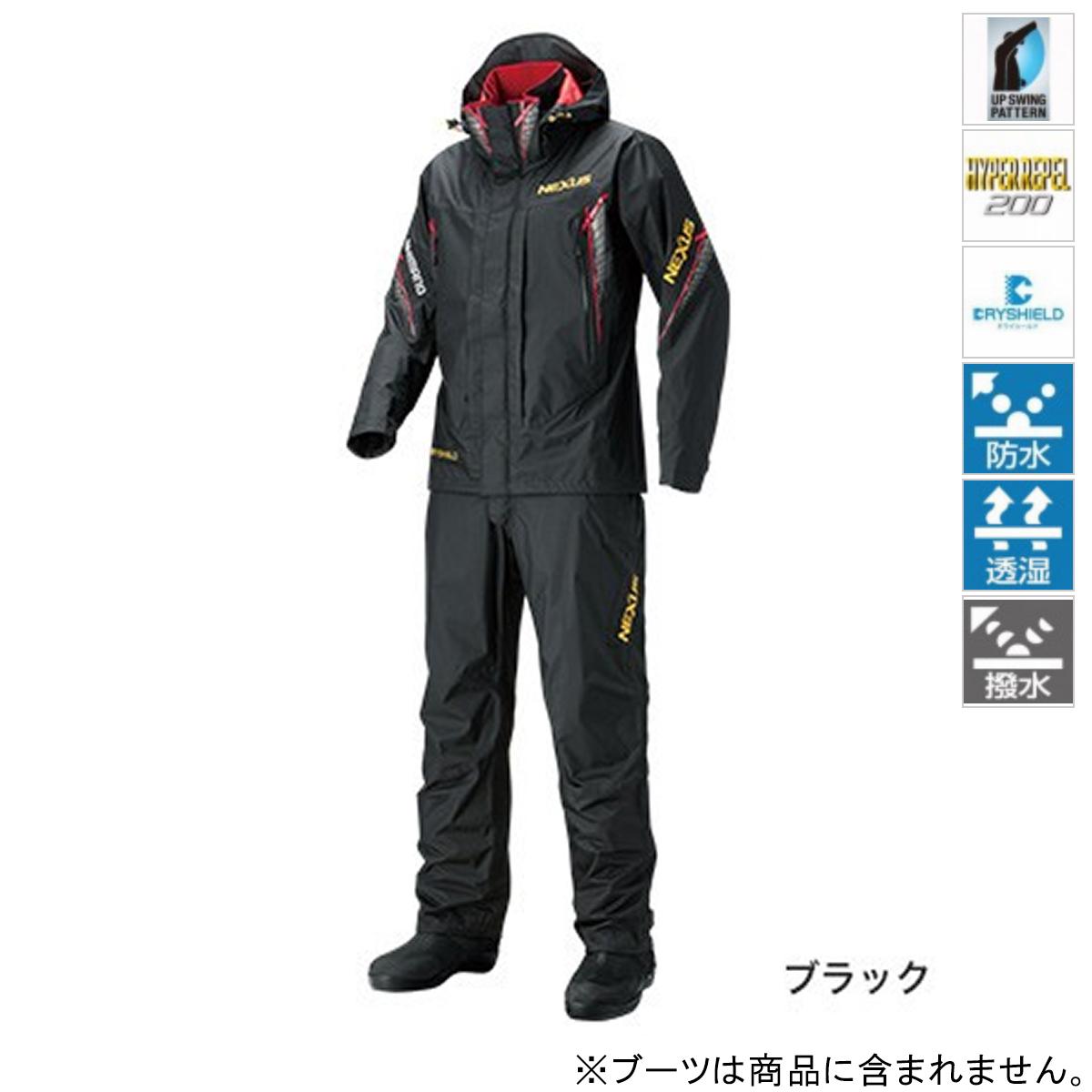 シマノ NEXUS DS レインスーツ XT RA-118R L ブラック