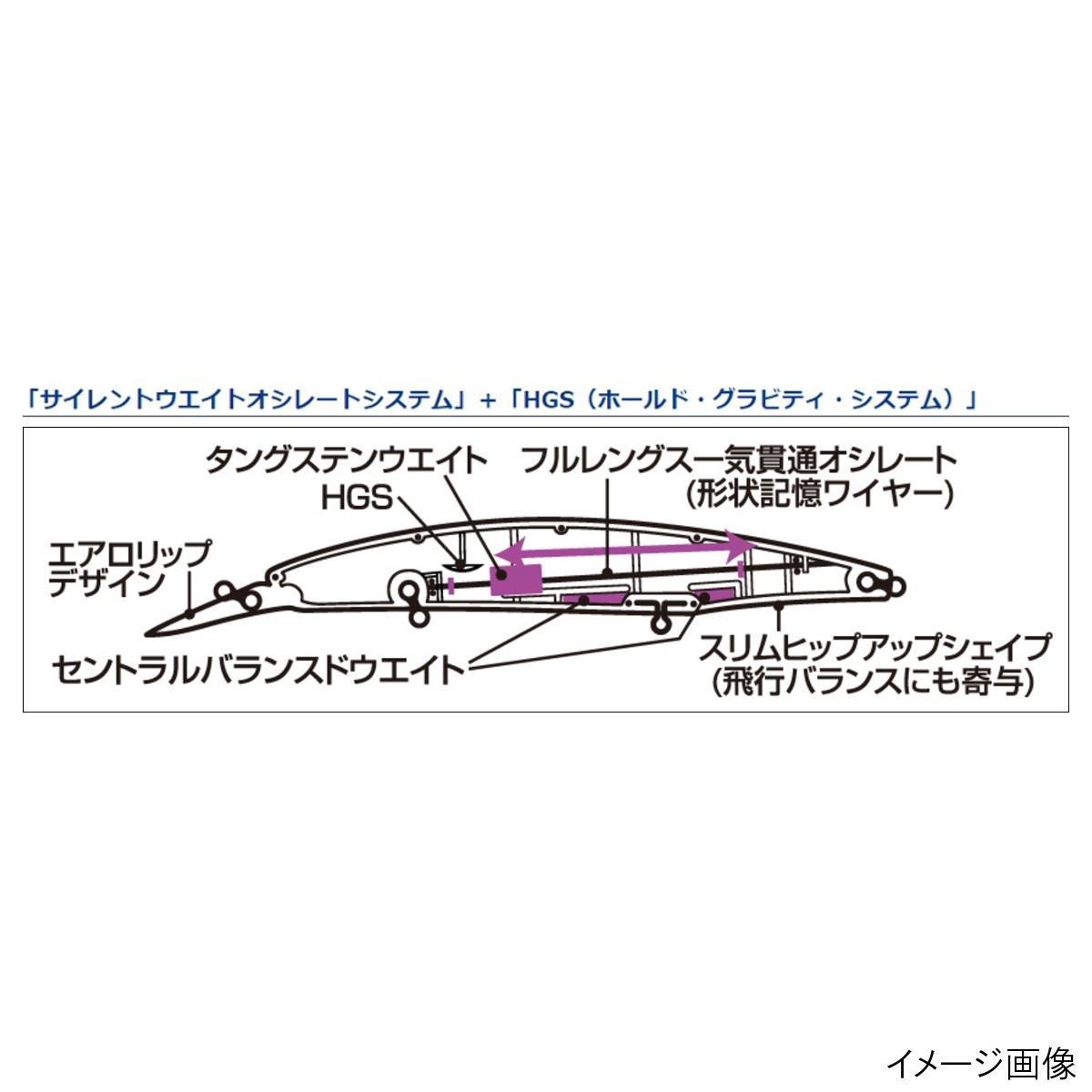 大和(Daiwa)安排上部125SDRHP沙丁鱼