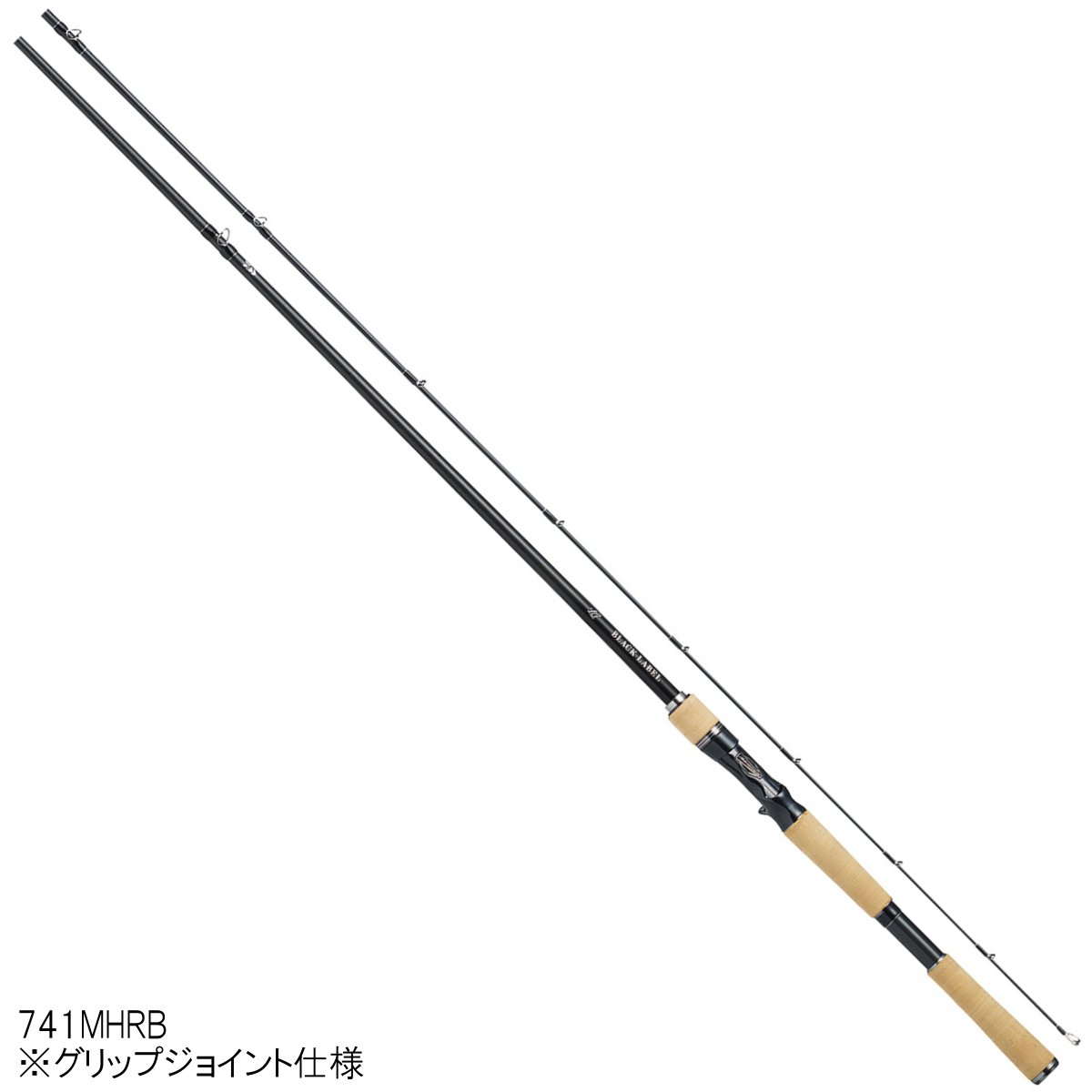 ダイワ ブラックレーベル LG(ベイトキャスティングモデル) 741MHRB【大型商品】