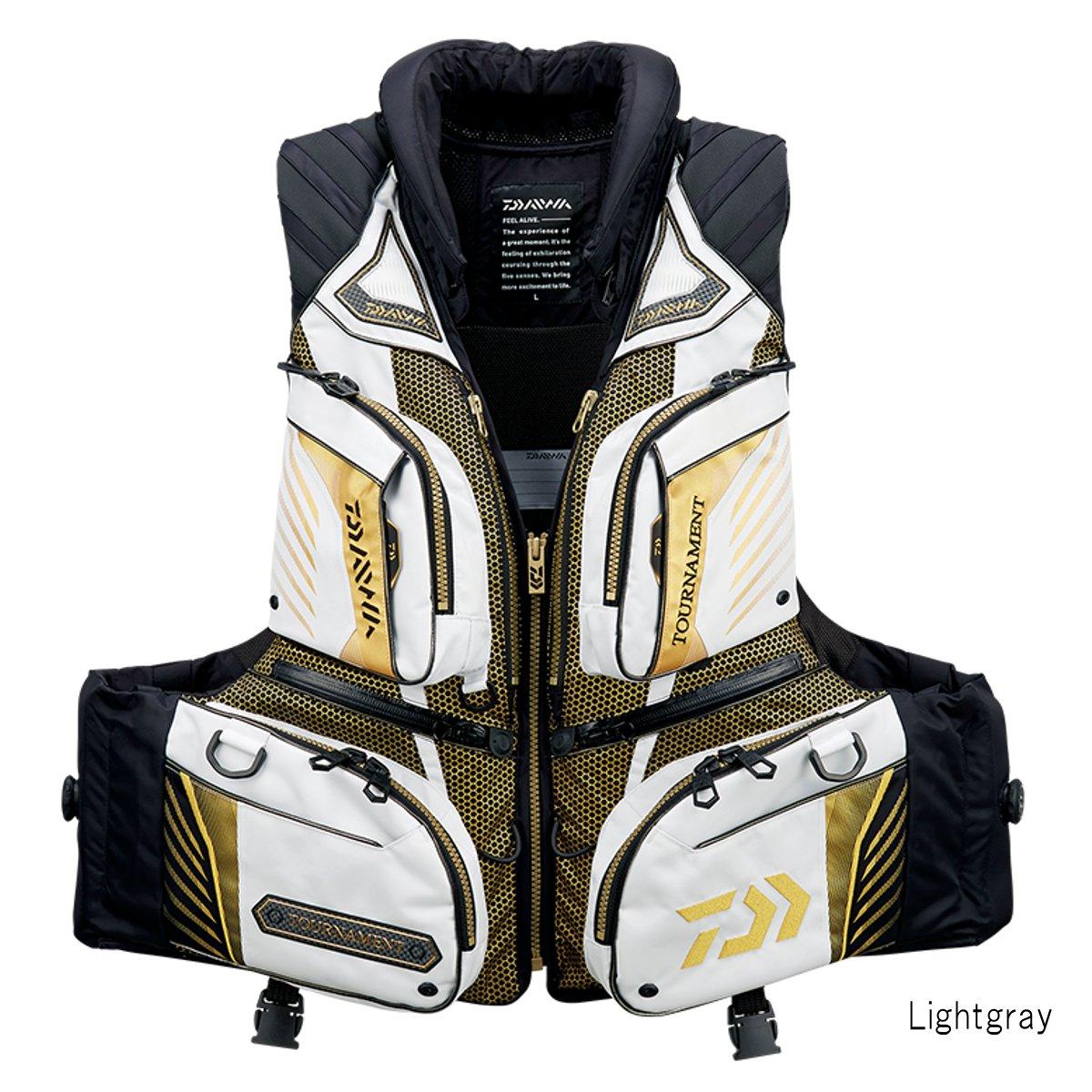 ダイワ トーナメント バリアテック 枕つきサイバーフロート DF-3108T L Lightgray