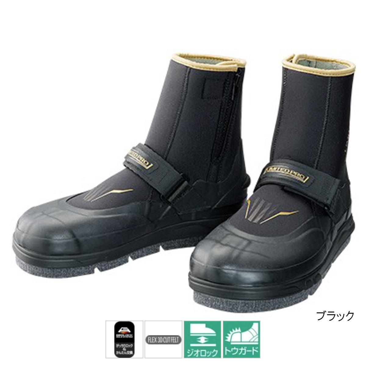 シマノ ジオロック・フレックス3Dカットフェルトタビ リミテッドプロ(中割) FT-011S M ブラック