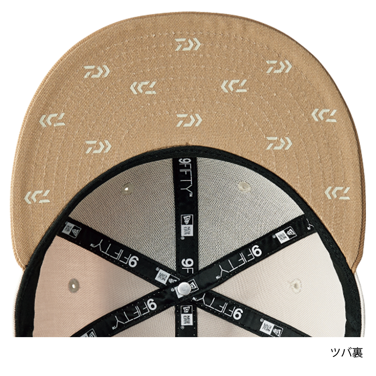 0edef2b8a7ba ... Daiwa 9FIFTY Collaboration with NEW ERA DC-5408NW-free beige ...