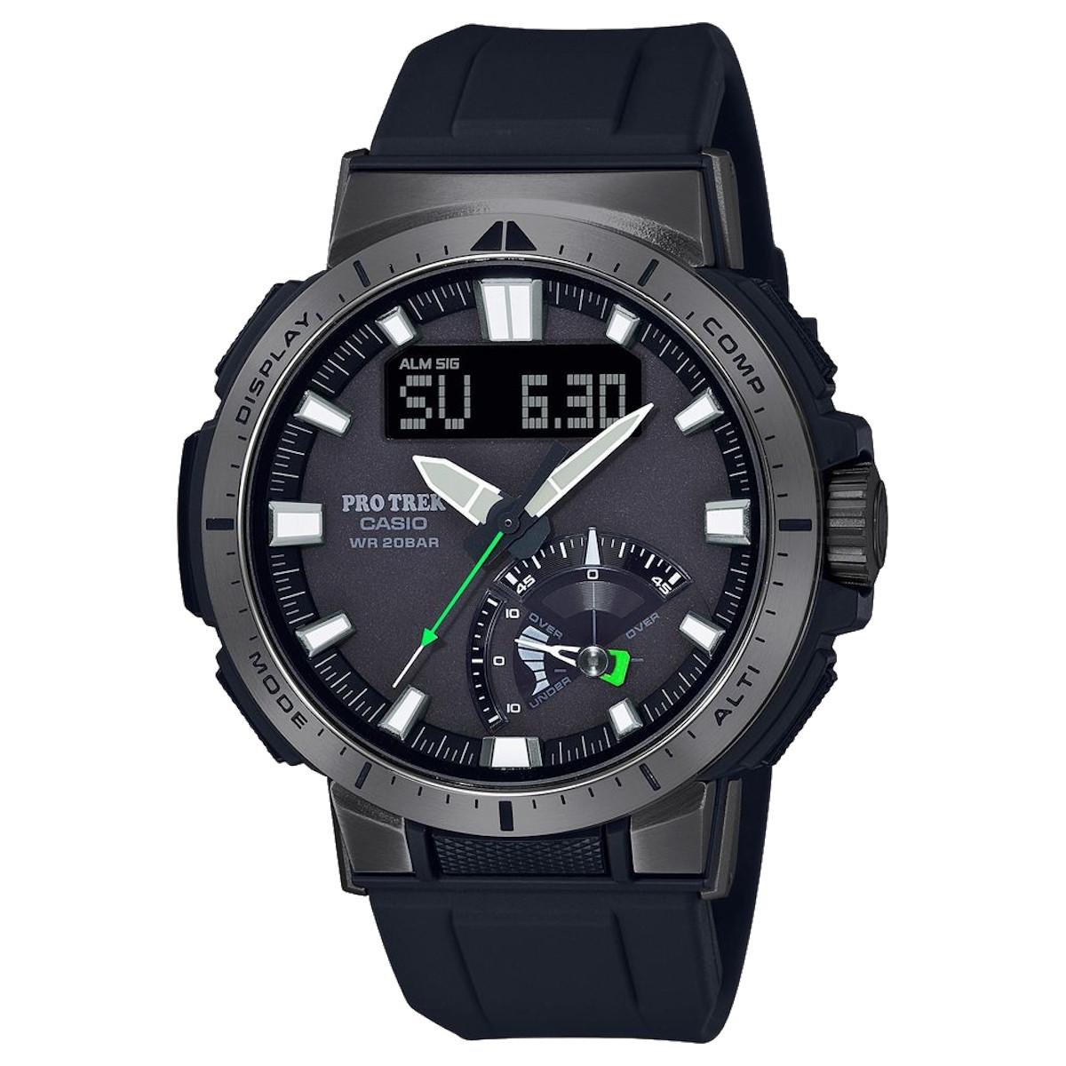 カシオ計算機(CASIO) プロトレック マルチフィールドライン PRW-70Y-1JF (高機能腕時計/登山/釣り/アウトドア/キャンプ)※メーカーお取り寄せ商品