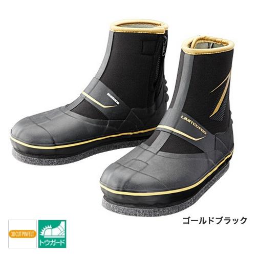シマノ 3DカットピンフェルトAYUタビ (中割) TA-157P LL ゴールドブラック