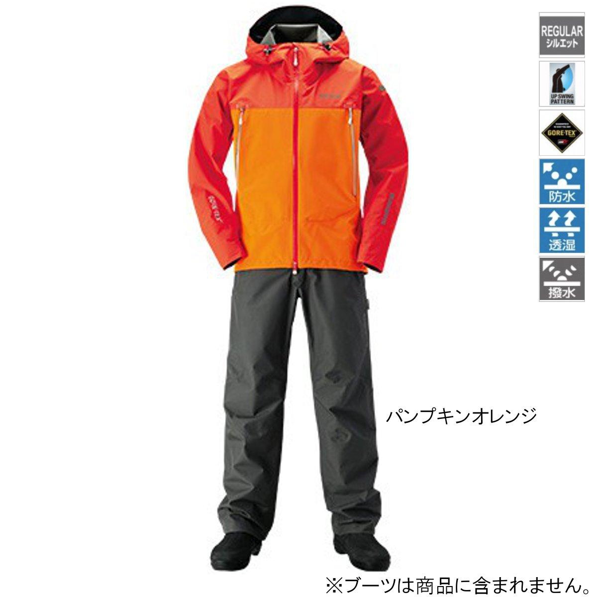 シマノ GORE-TEX ベーシックスーツ RA-017R M パンプキンオレンジ