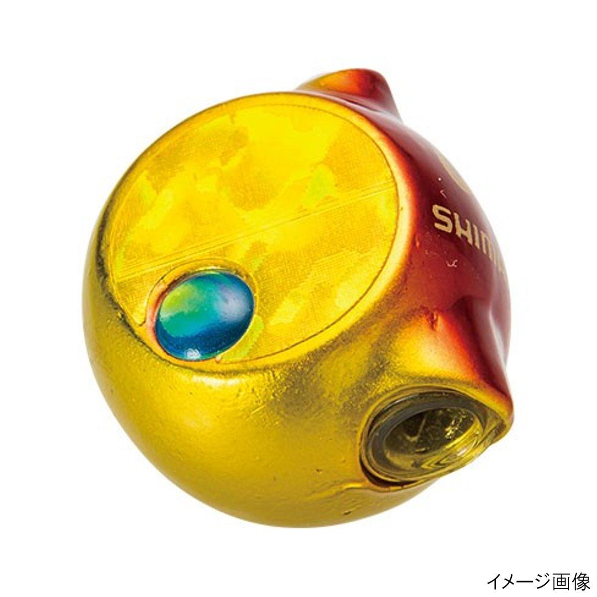 Shimano(SHIMANO)火炎月虎貘貘腦袋EJ-508Q 80g 03T(紅黄金)